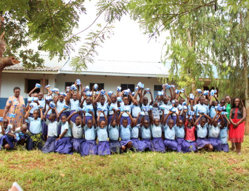 250 girls trained on Menstrual Hygiene Management