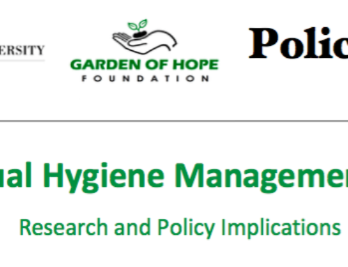 Kenya Menstrual Health and Hygiene Policy Brief